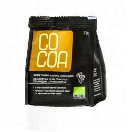 Rodzynki w surowej czekoladzie Cocoa