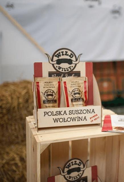 Polska suszona wołowina beef jerky Wild Willy
