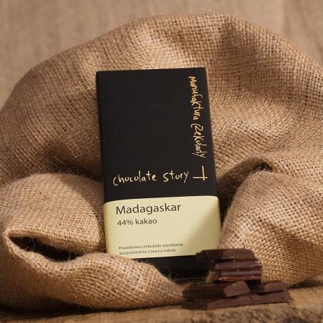 Czekolada 44% kakao z Madagaskaru