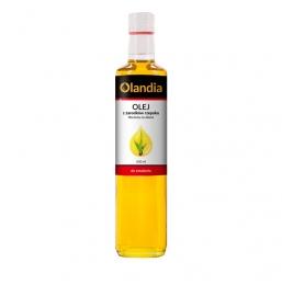 Olej z zarodków rzepaku tłoczony na zimno  500 ml do smażenia Olandia