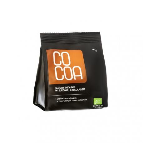 Jagody inkaskie w surowej czekoladzie Cocoa